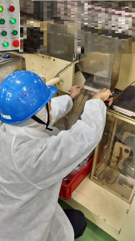 食品工場の工場内カイゼン事例
