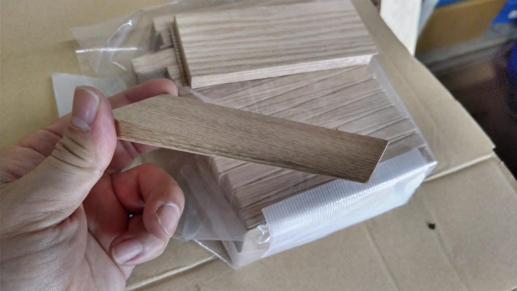 木のくさび製作(日立)